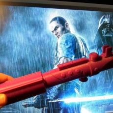 Picture of print of The Force Unleashed - Starkiller Lightsaber