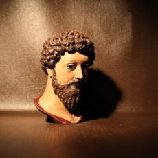 Picture of print of Bust of Marcus Aurelius