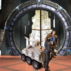 Stargate MALP Model Kit