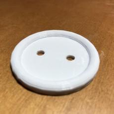 Shirt button - 2 Holes