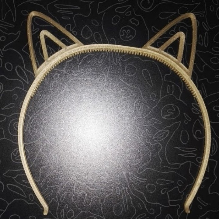 Girls_HairSupport_CAT_ears_Shape