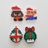 Super Mario Christmass Ornaments image
