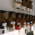 wall mount for 100 ml spice bottle / wide neck reagent bottle image