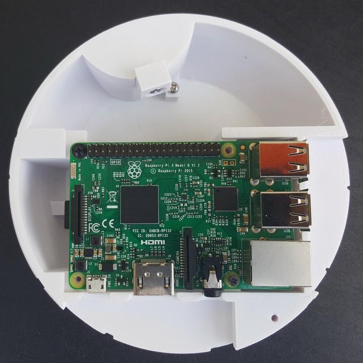Starwars Deathstar raspberry Pi 3 case