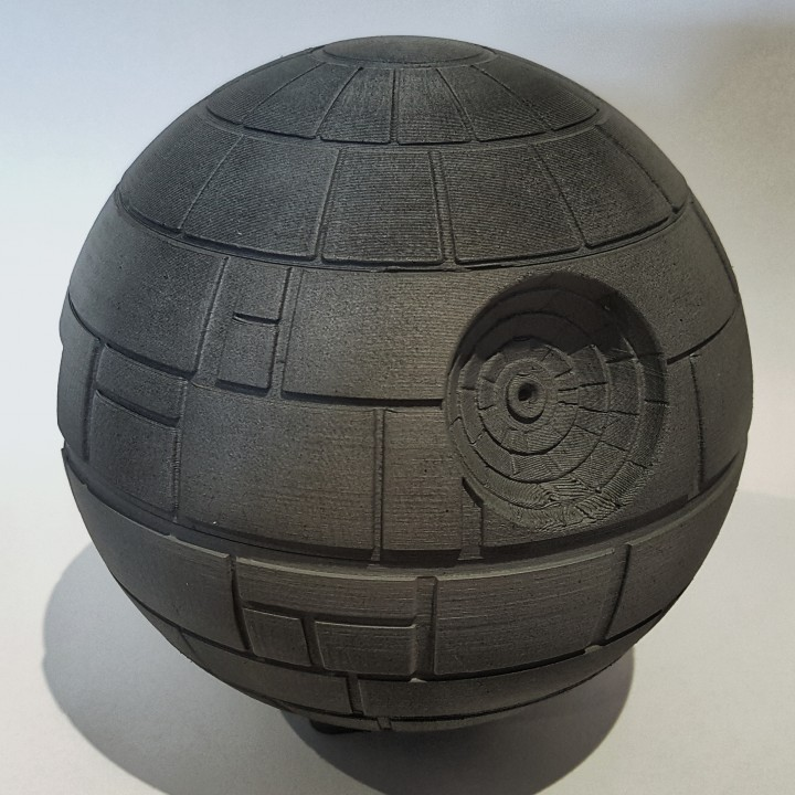 3D Printable Starwars Deathstar raspberry Pi 3 case by