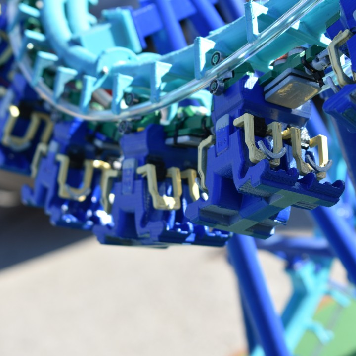 Invertigo Scaled Model Roller Coaster