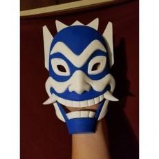 Blue Spirit Mask - Avatar: The Last Airbender