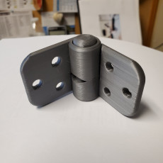 Picture of print of Self closing hinge, 90° snap