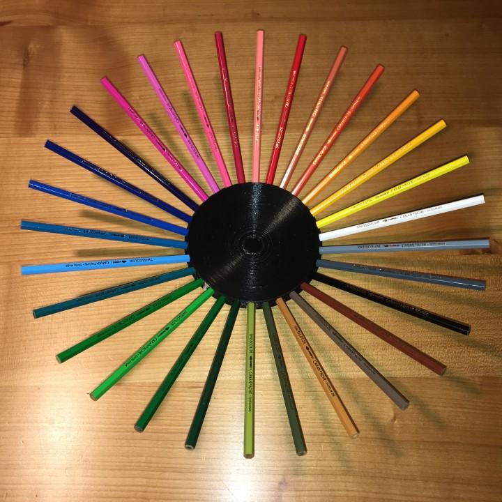 Colour pensil fruitbowl