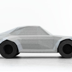 Picture of print of Low-Poly 911 Turbo