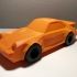 Low-Poly 911 Turbo print image