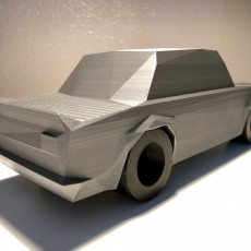 Picture of print of Low Poly 1973 BMW 2002 Turbo Esta impresión fue cargada por Matt Edwards