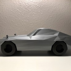 Picture of print of Low Poly 1972 Datsun 240Z