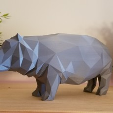Low Poly Hippo