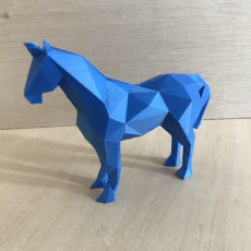 Picture of print of Low Poly Unicorn
