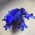 Low Poly Frog print image