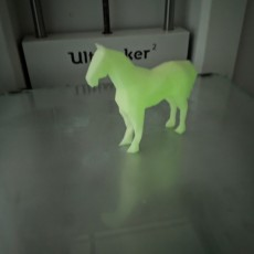 Picture of print of Low Poly Horse