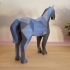 Low Poly Horse image