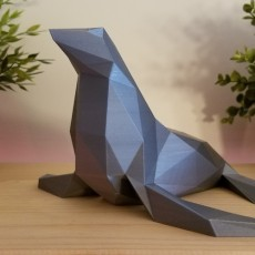 Low Poly Seal