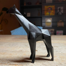 Picture of print of Low Poly Giraffe