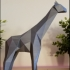 Low Poly Giraffe image