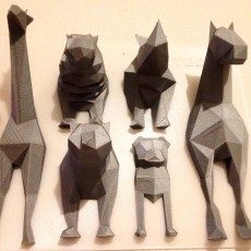 Picture of print of Low Poly Rhino