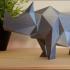 Low Poly Rhino image