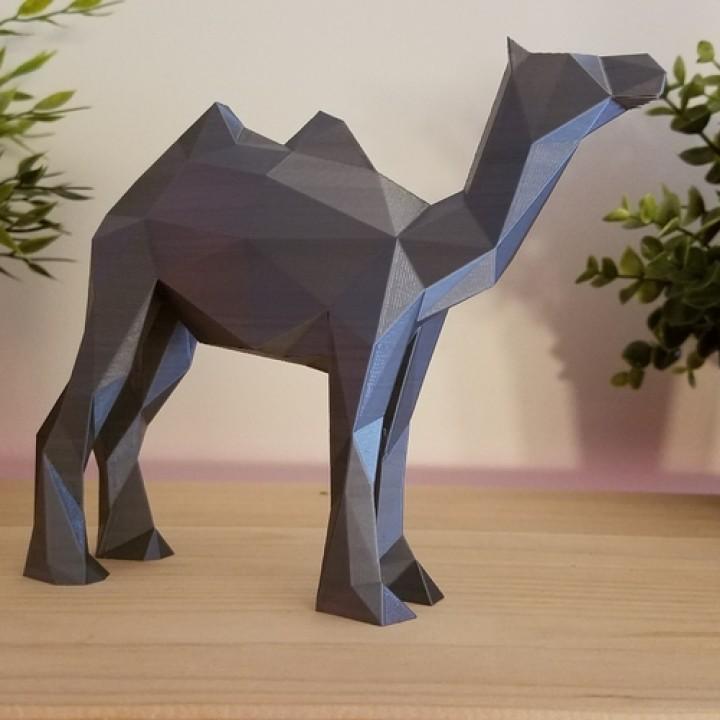 Low Poly Camel