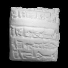 Cuneiform Tablet (creativemachineslab)