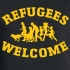 Refugees welcome image
