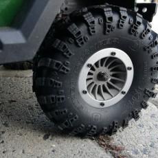 Dukes, 1.9  Scaler Wheel For Redcat Gen7
