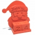 Santa Advent Countdown Calendar for Tinkercad Christmas image