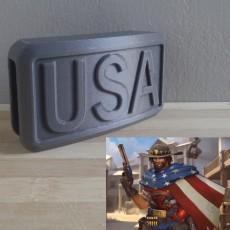 OVERWATCH - McCree - Belt Buckle ACC - USA version