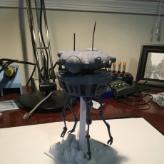 Picture of print of Emperical Probe Droid