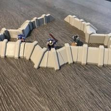 Warhammer 40K Defence Wall