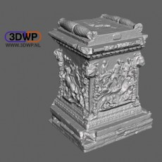 Roman Marble Plinth