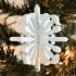 Minecraft Weapons Snowflake Ornament image