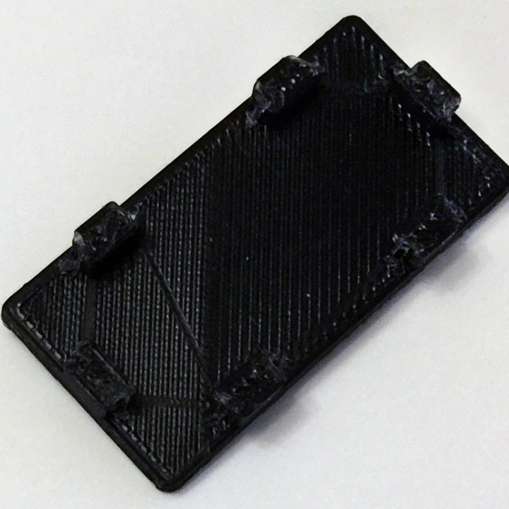 Cap for 20x40 alu extrusions with m5 slots.