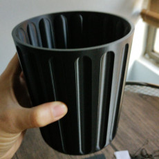 Picture of print of Desktop Trash Can with Lid