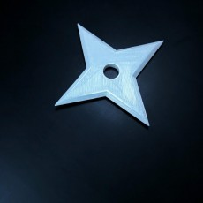 Simple 4 Point Ninja Star