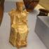 Boeotian terracotta statuette of Artemis image