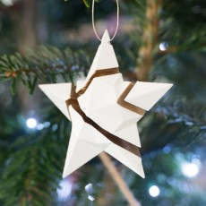 Xmas Fragmented Star