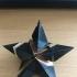 Xmas Fragmented Star print image