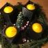 XMAS Advent wreath city style image