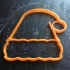 santa hat cookie cutter image