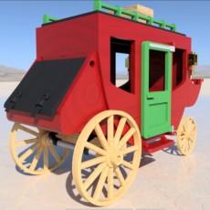 Playmobil Stagecoach