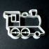 Train cookie cutter image