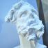 Head of a giant, Pergamon altar image