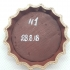 Fallout Bottle Cap Keychain print image