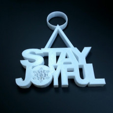 Picture of print of Stay Joyful Ornament